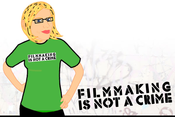 Filmmaking is Not a Crime